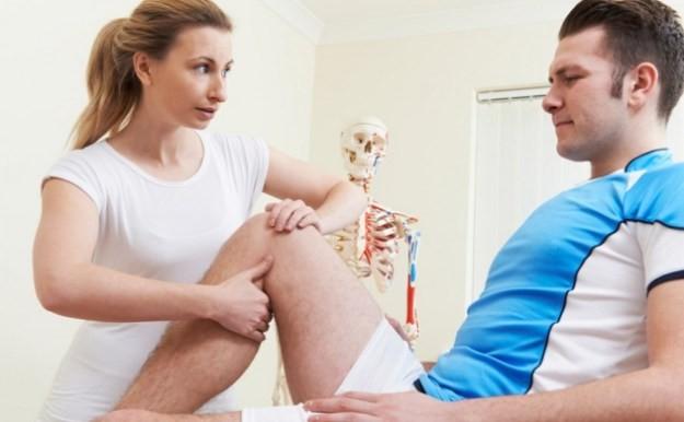 Коленный сустав лечение лазером точки для лечения