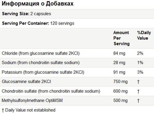 DrBest_glucosamin_MSM_sostav