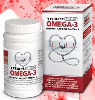 Витрум кардио Омега-3