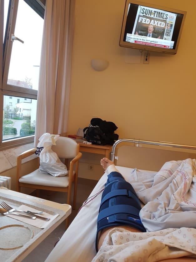 лимфодренаж коленного сустава после операции