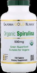 органическая спирулина