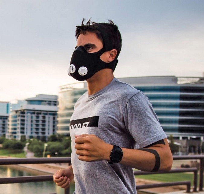 маски спортивные для дыхания