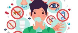 аллергия признаки и симптомы